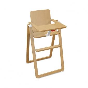 Chaise haute pliable naturel supaflat pour chambre for Chaise haute pliable