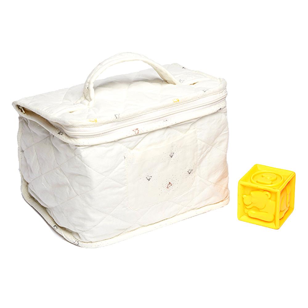 trousse de toilette b b bird jaune et noir sweetcase. Black Bedroom Furniture Sets. Home Design Ideas