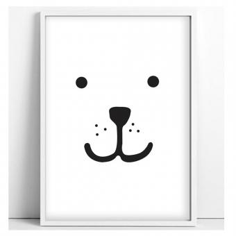 Affiche ours a3 tellkiddo pour chambre enfant les - Affiche chambre garcon ...