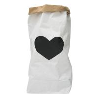 Sac en papier Coeur