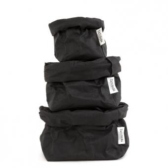sac en papier s m ou l noir uashmama pour chambre enfant les enfants du design. Black Bedroom Furniture Sets. Home Design Ideas