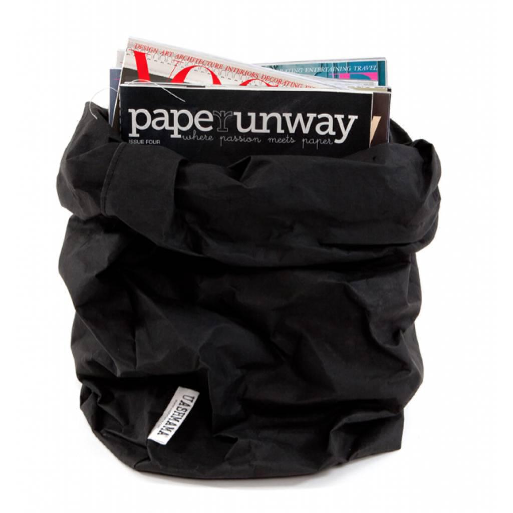 sac en papier xl ou xxl noir uashmama pour chambre enfant les enfants du design. Black Bedroom Furniture Sets. Home Design Ideas