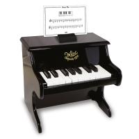 Piano noir 18 touches avec ses partitions