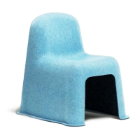 Chaise enfant Little Nobody - Bleu