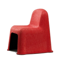 Chaise enfant Little Nobody - Rouge