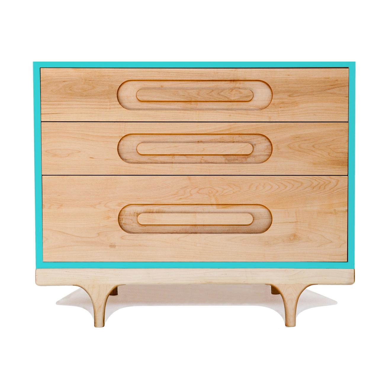 Commode caravan turquoise kalon studios pour chambre enfant les enfants du design - Les enfants du design ...
