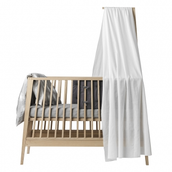 voile de lit b b linea blanc leander pour chambre enfant les enfants du design. Black Bedroom Furniture Sets. Home Design Ideas