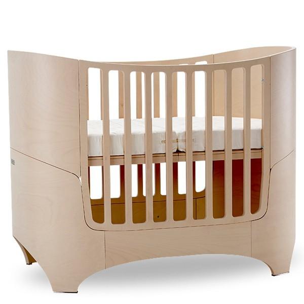 lit volutif leander de 0 8 ans naturel leander pour chambre enfant les enfants du design. Black Bedroom Furniture Sets. Home Design Ideas
