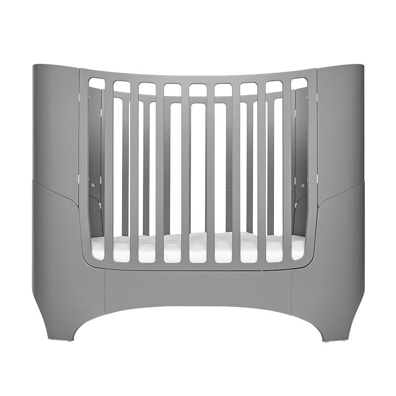 lit volutif leander de 0 8 ans gris leander pour chambre enfant les enfants du design. Black Bedroom Furniture Sets. Home Design Ideas