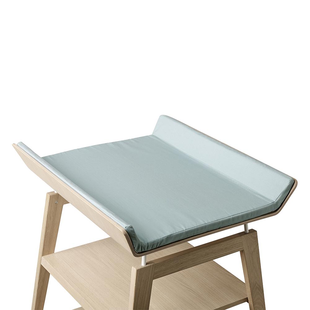 Housse de matelas langer linea bleu leander pour for Matelas de table a langer