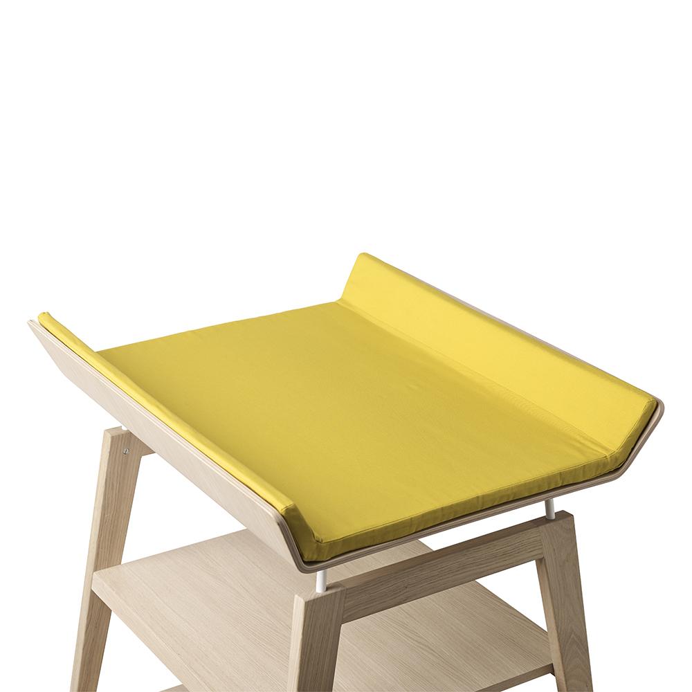 housse de matelas langer linea jaune leander pour chambre enfant les enfants du design. Black Bedroom Furniture Sets. Home Design Ideas
