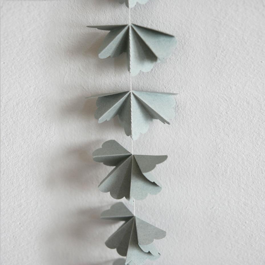 Guirlande corolle vert de gris mi avril pour chambre enfant les enfants du design - Comment enlever le vert de gris ...