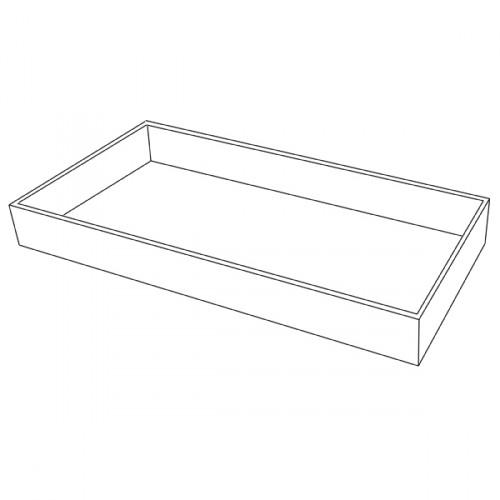 tiroir lit gigogne bouleau teint noir vernis nonjetable. Black Bedroom Furniture Sets. Home Design Ideas