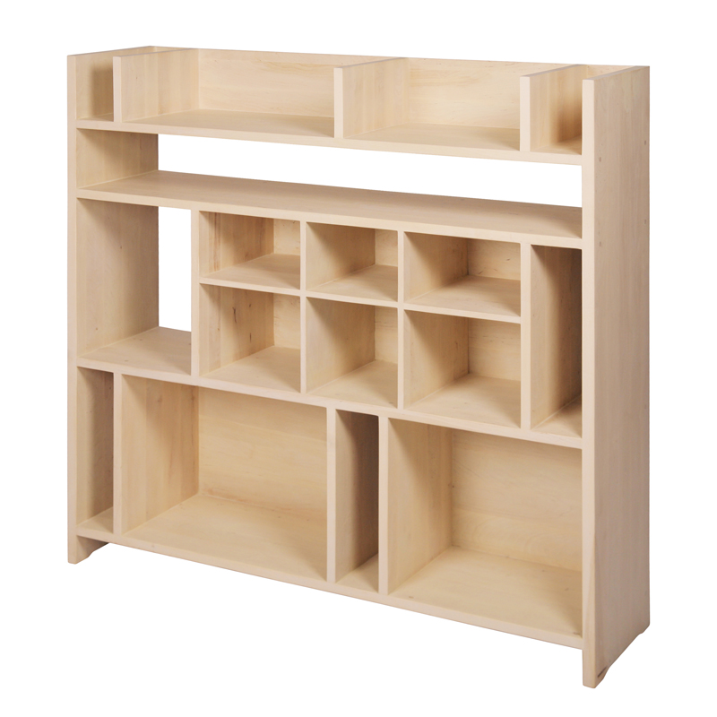 Grande tag re biblioth que secret nonjetable pour chambre for Etagere pour bibliotheque murale