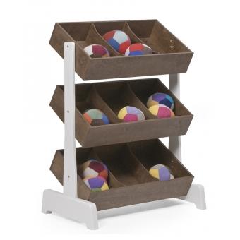 toy store meuble de rangement jouets noyer oeuf nyc pour chambre enfant les enfants du design. Black Bedroom Furniture Sets. Home Design Ideas