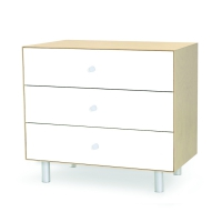 Commode Merlin Classic 3 tiroirs - Bouleau