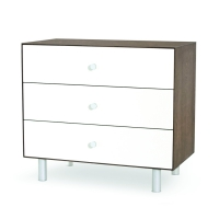 Commode Merlin Classic 3 tiroirs - Noyer