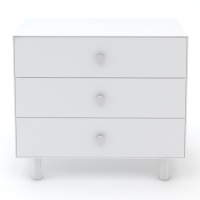 Commode Merlin Classic 3 tiroirs - Blanc