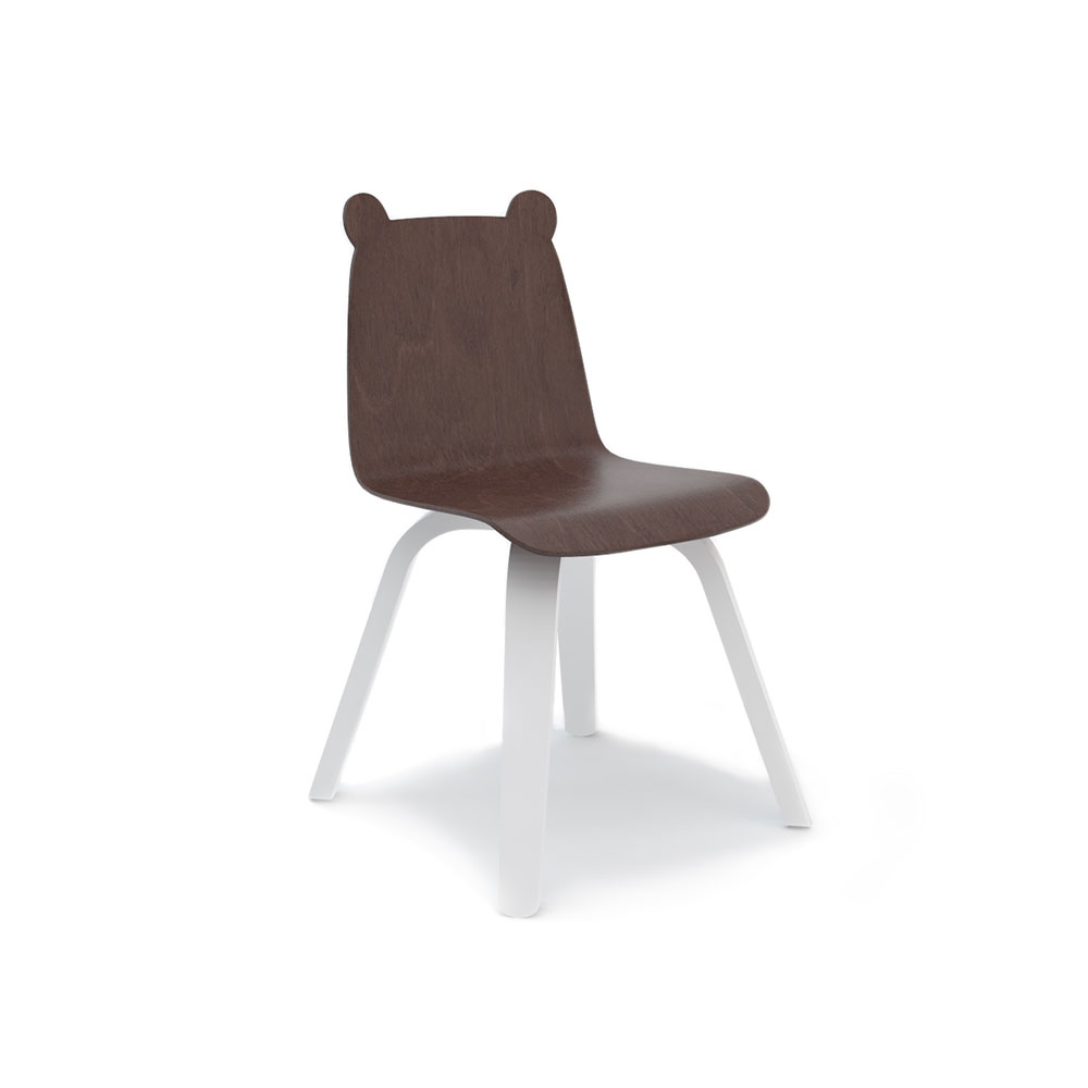 Chaise ours play noyer oeuf nyc pour chambre enfant for Chaise oeuf