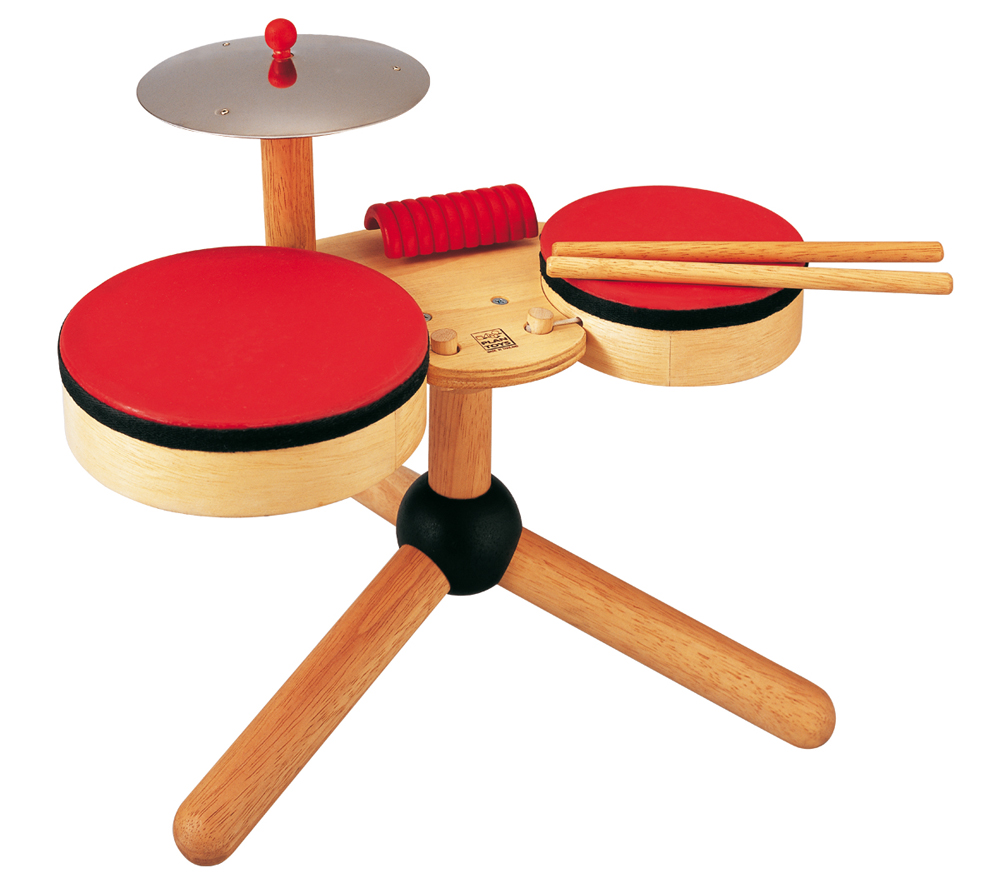 Chambre Orange Pastel : Toy Drum Set
