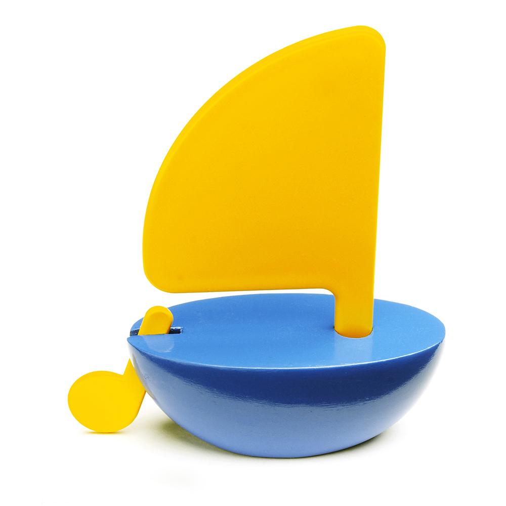 Bateau Voile Jaune Et Bleu Playsam Pour Chambre Enfant Les Enfants Du Design