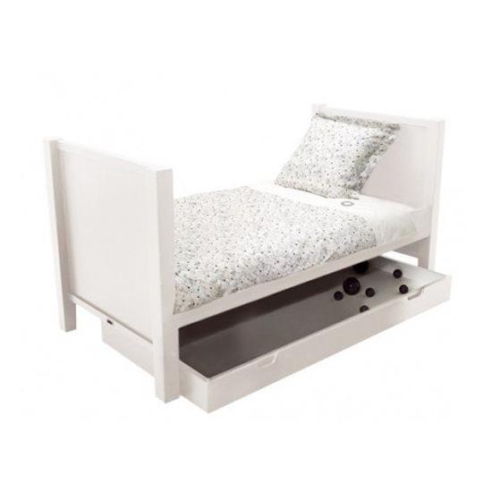 Lit volutif joy avec tiroir blanc quax pour chambre enfant les enfants d - Lit evolutif avec tiroir ...