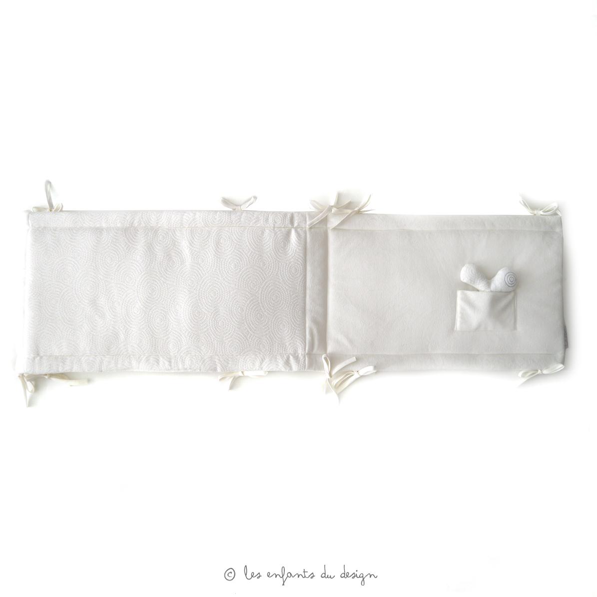 Lit quax 103 articles achat pas cher avec kibodio - Tour de lit bebe 70x140 ...