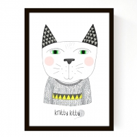 Affiche Knitty Kitty