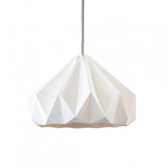 Suspension origami chestnut blanche studio snowpuppe pour for Suspension chambre garcon