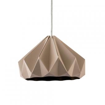 suspension origami chestnut taupe studio snowpuppe pour chambre enfant les enfants du design. Black Bedroom Furniture Sets. Home Design Ideas