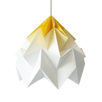 Suspension Origami Moth XL Gradient Jaune
