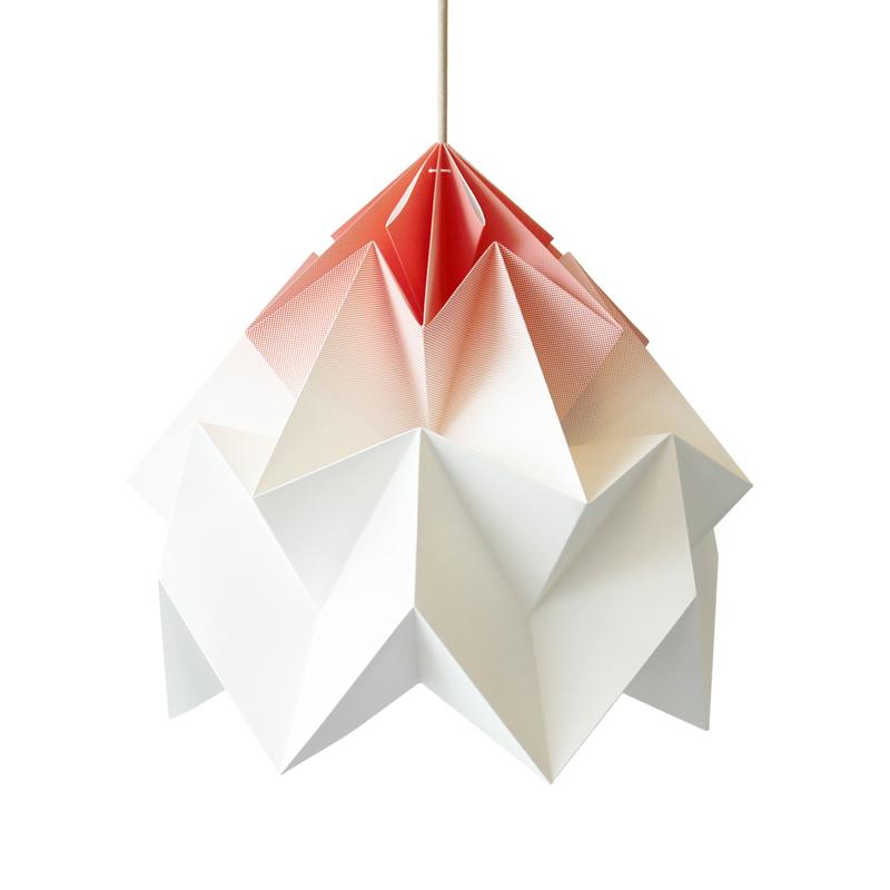 suspension origami moth xl gradient corail studio. Black Bedroom Furniture Sets. Home Design Ideas