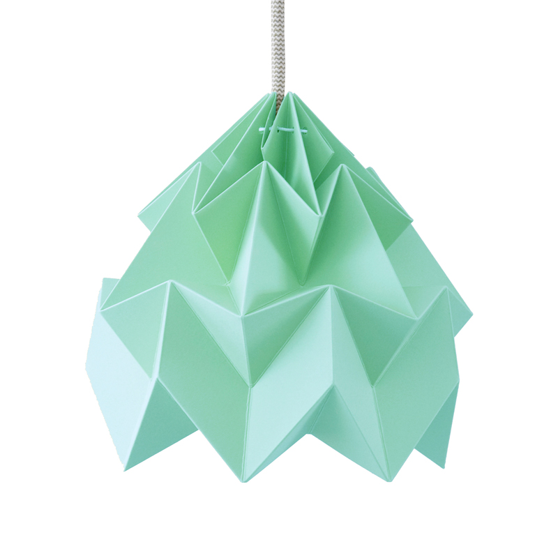 suspension origami moth xl mint studio snowpuppe pour. Black Bedroom Furniture Sets. Home Design Ideas