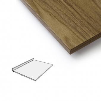 plateau bureau noyer string pour chambre enfant les. Black Bedroom Furniture Sets. Home Design Ideas
