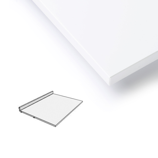 plateau bureau blanc string pour chambre enfant les enfants du design. Black Bedroom Furniture Sets. Home Design Ideas