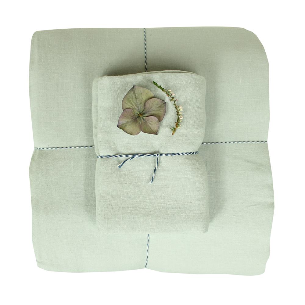 housse de couette junior lin 100x140 gris lab pour. Black Bedroom Furniture Sets. Home Design Ideas