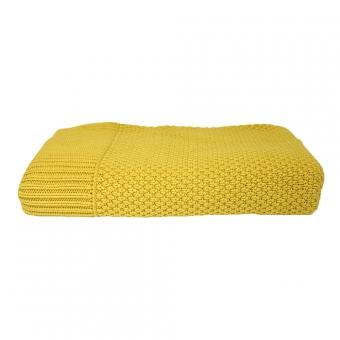plaid maille moutarde lab pour chambre enfant les enfants du design. Black Bedroom Furniture Sets. Home Design Ideas