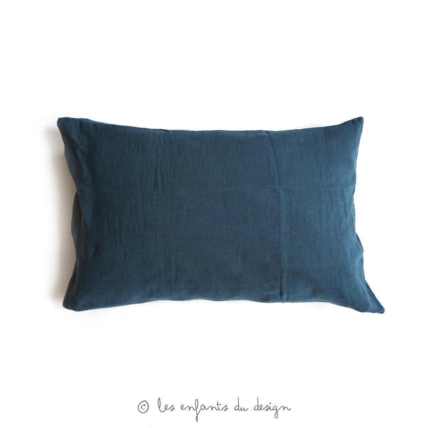 chambre bleu canard et lin avec des id es. Black Bedroom Furniture Sets. Home Design Ideas