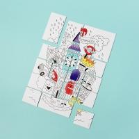 Puzzle à colorier Londres