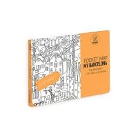 My Barcelone - Pocket map à colorier
