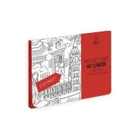 My Londres - Pocket map à colorier