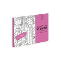 My New York - Pocket map à colorier