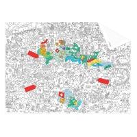 My Switzerland - Pocket map à colorier