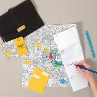 My Tokyo - Pocket map à colorier
