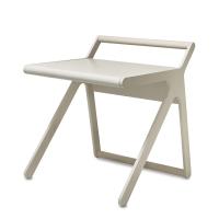 Bureau K Desk - Cérusé blanc