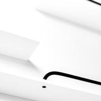 Etagère XL - Bois Blanc/Métal Noir