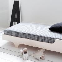 Lit enfant A Teen Bed 90x200 - Cérusé Blanc