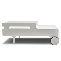Lit junior R Toddler Bed - Cérusé Blanc