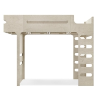 Lit mezzanine F Bunk Bed - Naturel
