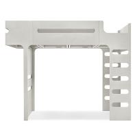 Lit mezzanine F Bunk Bed - Cérusé Blanc